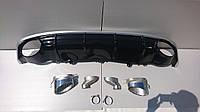 Диффузор задний Audi A7 стиль RS7 16+ S-line