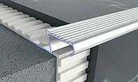 Профиль рифленый лестничный Z-образный 41х13мм, 2,7м.п., фото 1