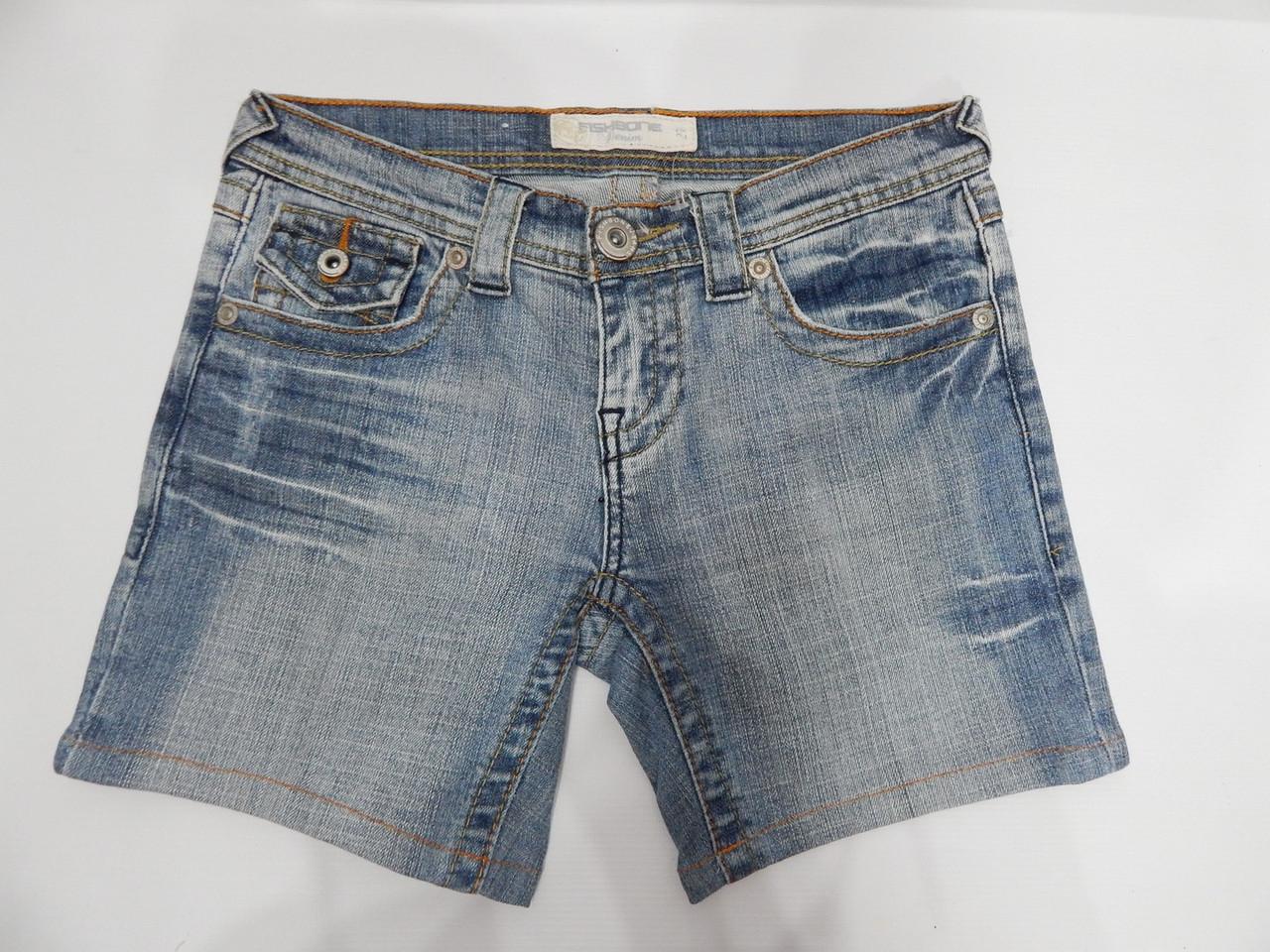 Шорты джинсовые женские FISHBONE, 40-42 RUS, 34 EUR,  100GW