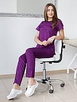 Костюм медицинский Жасмин фиолетовый