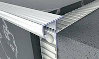 Профиль рифленый лестничный универсальный 33х31мм, 2,7м.п., фото 1