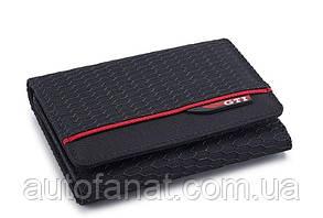 Оригинальный кошелек Volkswagen GTI Wallet, Black (5GB087400041)