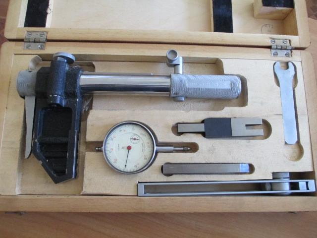 Кромочно-тангенциальный шагомер.Для модулей    18-36 мм.