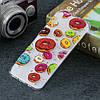 Чехол накладка для Samsung Galaxy A50 A505FD силиконовый, Разноцветные пончики, фото 5