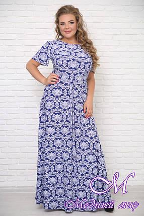 Легкое летнее платье большого размера (р. 42-90) арт. Елена, фото 2