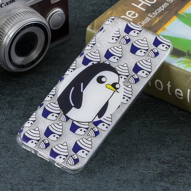 Samsung Galaxy a50 чехол накладка Penguin and Cupcake