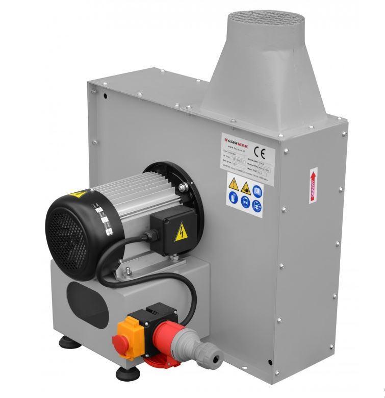 Вентилятор радіальний FAN1500 для транспортування стружки, тирси, дрібних гранул