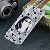 Чехол накладка для Samsung Galaxy A50 A505FD силиконовый, Penguin and Cupcake, фото 5
