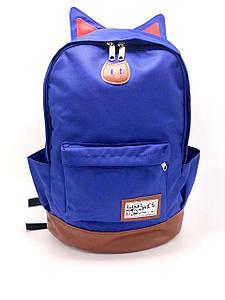 Рюкзак женский городской Cat синий