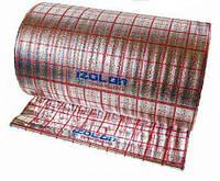 """Підкладка під теплу підлогу IZOLON AIR 5 мм, ламінована """"тепла підлога"""" ,1 м"""