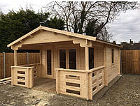 Дом деревянный из профилированного бруса 6х4. Скидка на домокомплекты на 2020 год
