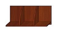 Полка навесная Яблоня Локарно 300х600х268мм, фото 1