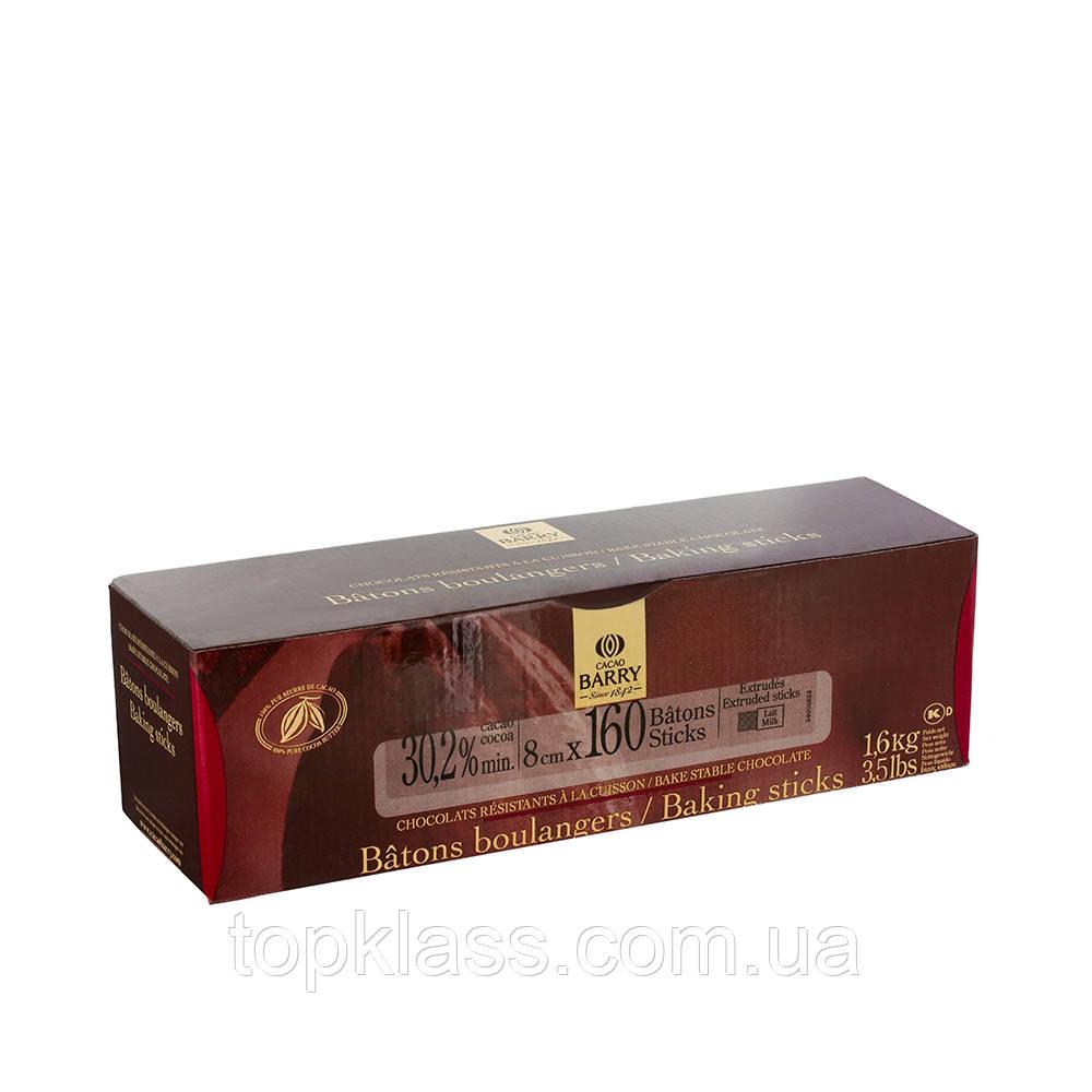Палочки из термостабильного молочного шоколада Cacao Barry,  Бельгия 1,6кг