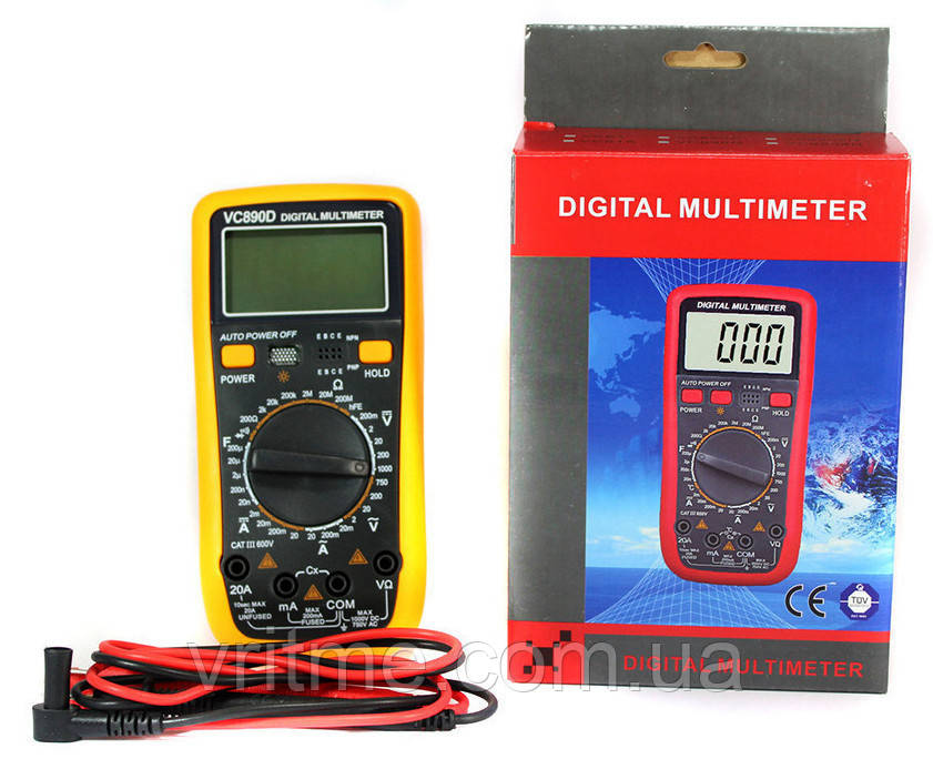 Цифровий мультиметр Digital Multimeter VC890D