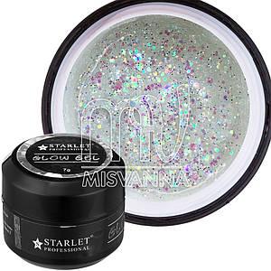 Glow Gel Starlet Professional №03, 7 г лунный камень голограмма