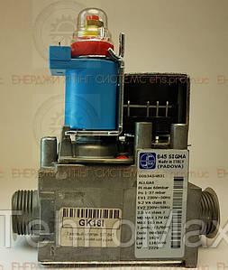 Газовый клапан SIT 845 SIGMA синяя катушка Hermann, Beretta, Sime, Immergas, Ariston, Ferroli, Vaillant MAX Pro/Plus 053560,...