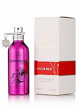 Jeanmishel Love In red 90ml жіночий парфум
