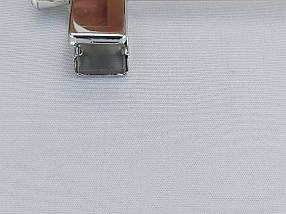 Длина 40 см. Плечики вешалки тремпеля металлический со вставкой из  дерева черного цвета, для брюк и юбок, фото 3
