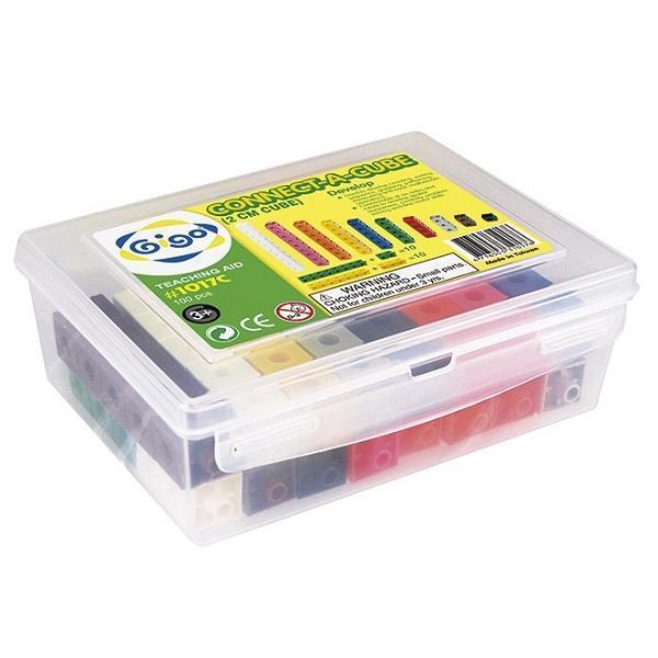 Набор для счета Gigo Соедини кубики, 2 см (1017C)