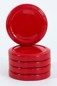 Красная евро крышка диаметром 58 мм