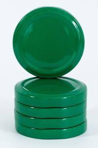 Зеленая крышка твист 58 мм