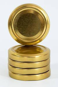 Золотая крышка твист 58 мм