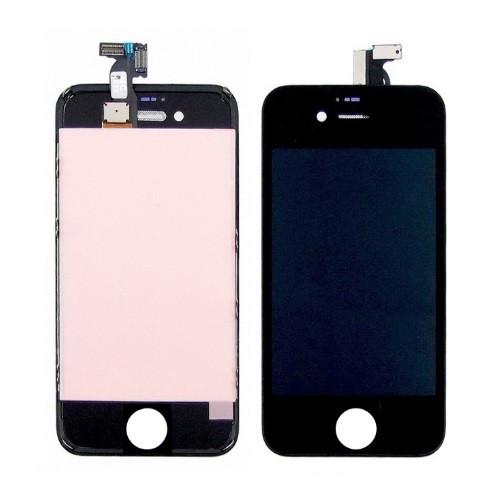 Дисплей (LCD) Apple iPhone 4S с тачскрином, чёрный оригинал