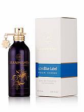 Чоловічий парфум Jeanmishel Love Blue Label 90ml
