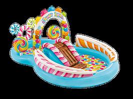 """Детский игровой надувной центр """"Территория Сладостей"""" 295Х191Х135 см Intex 57149"""