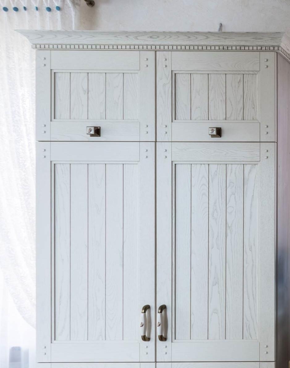Фасады для шкафа в спальню из чистого ясеня