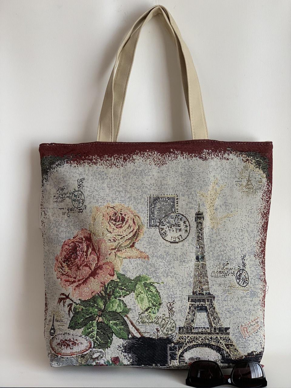 Эко-сумка тканевая городская