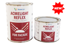 Acmelight Reflex Facade – светоотражающая фасадная краска 0.25л, 0,5л, 1л