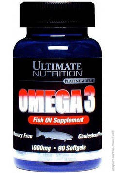Omega 3 (90 softgels) Ultimate Nutrition