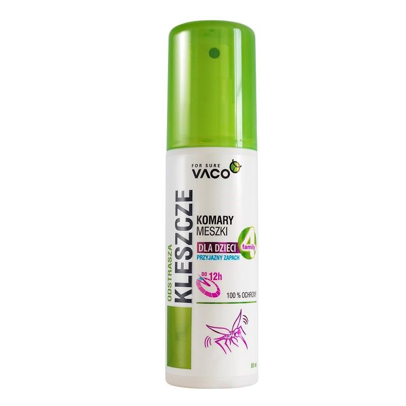 Спрей от комаров, клещей и мошек для детей Vaco