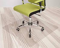 Защитный коврик под кресло 1,0 мм 100*125 см. прозрачный , фото 1