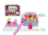 Хеллоу Китти Hello Kitty с машиной автобусом Пикник