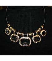 Подвеска 5 Black Stones Fashion Jewelry
