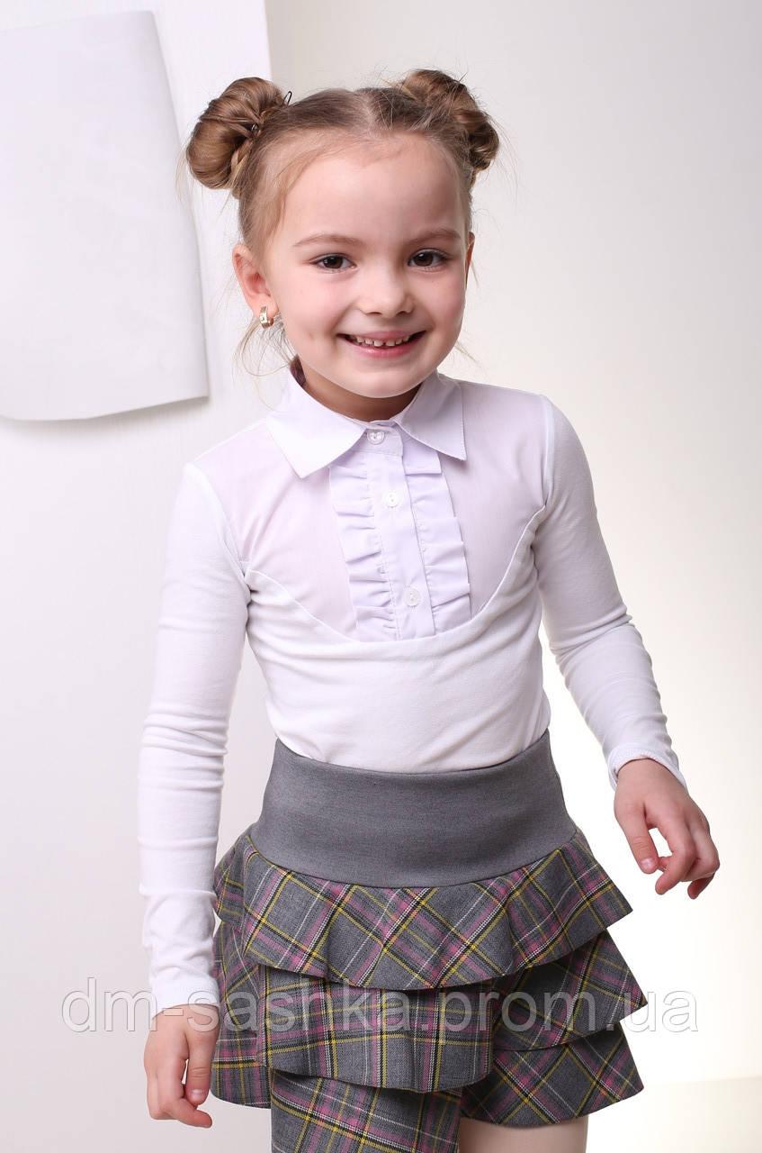 Блузка для девочки трикотаж