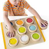Тактильный сортер Guidecraft Manipulatives Цветные фактуры (G5077), фото 4