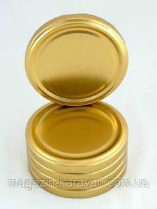 Золотая евро крышка твист 66 мм
