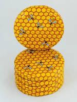 Крышка для меда на стеклянную банку 66мм 1300 шт