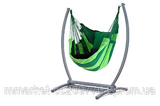 Подвесное кресло гамак XL + каркас WCG