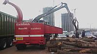 Щепорез – измельчитель древесины с манипулятором Biber 80