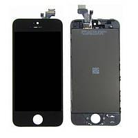 Дисплей (LCD) Apple iPhone 5 с тачскрином, черный оригинал
