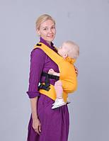 """Ерго-рюкзак """"ForKids"""" апельсин 1 розмір Не кенгуру! безпечно для дітей!, фото 1"""