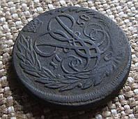 Старинная монета 2 копейки 1747г.