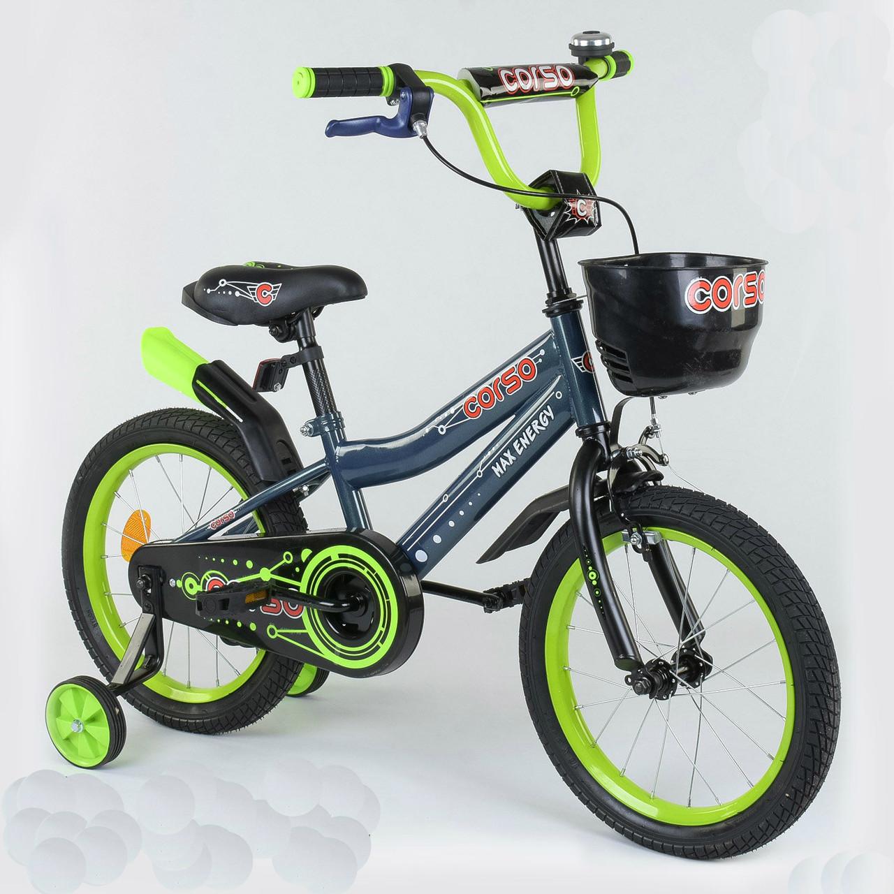 """Велосипед 16"""" дюймов 2-х колёсный R - 16900 """"CORSO"""" 77170"""