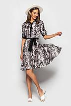"""Приталенное платье-рубашка """"Darville"""" с коротким рукавом (5 цветов), фото 3"""