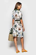 """Приталенное платье-рубашка """"Darville"""" с коротким рукавом (5 цветов), фото 2"""