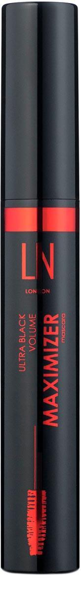 Тушь для ресниц LN Professional Maximizer Ultra Black Volume Mascara, ЛН Профешнл 10 мл